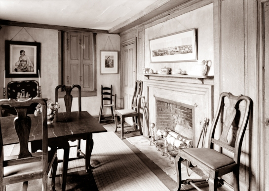 old manse dining room