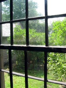 old manse window