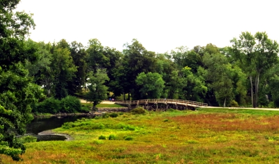old north bridge from manse