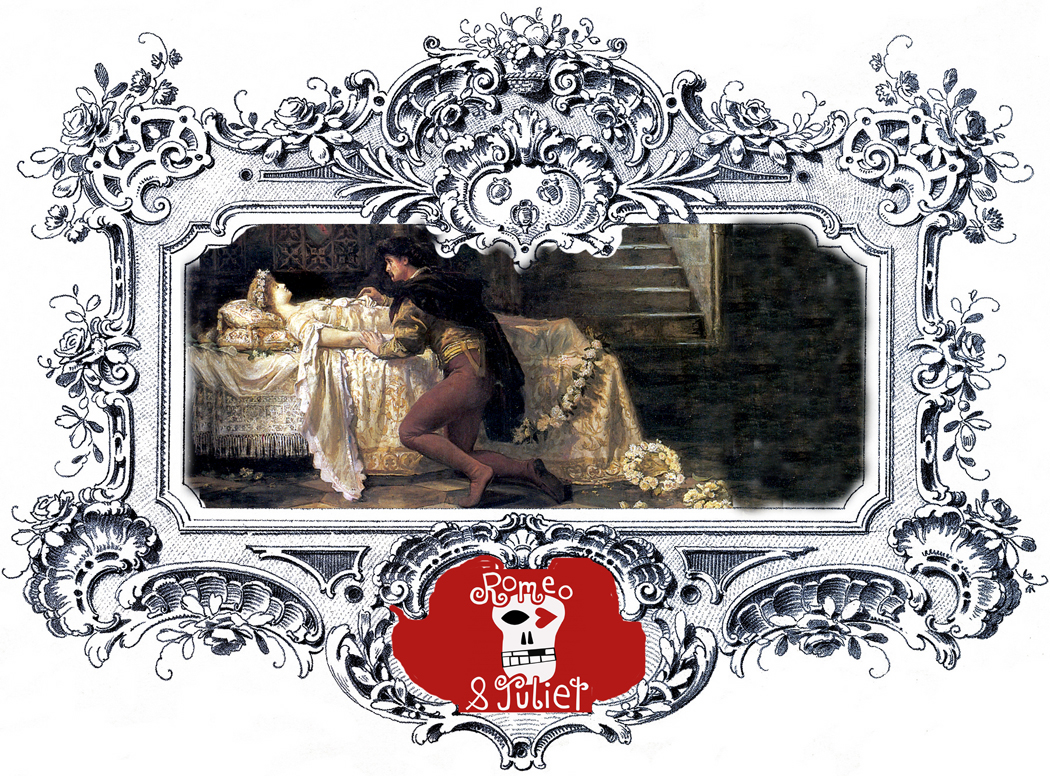 Romeo and Juliet in frame