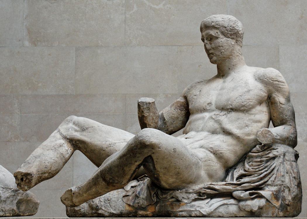 Dionysos pediment Parthenon