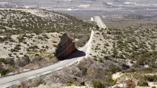 iraan roadcut