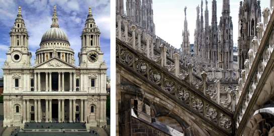 st pauls milan cathedrals