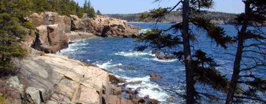 Thunder hole Acadia NP Maine