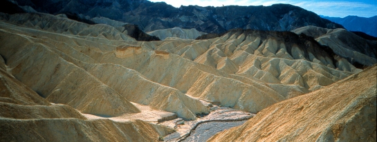 Zabriskie Point Death Valley Calif