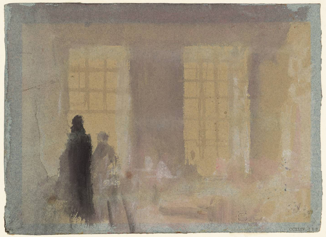 At Petworth: Morning Light through the Windows 1827 by Joseph Mallord William Turner 1775-1851