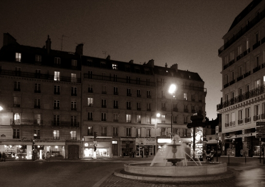 paris night 31x