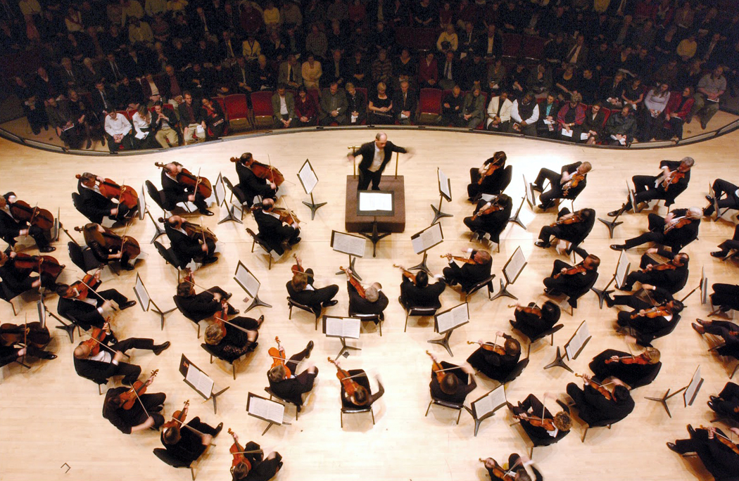 Orchestra overhead shot copy