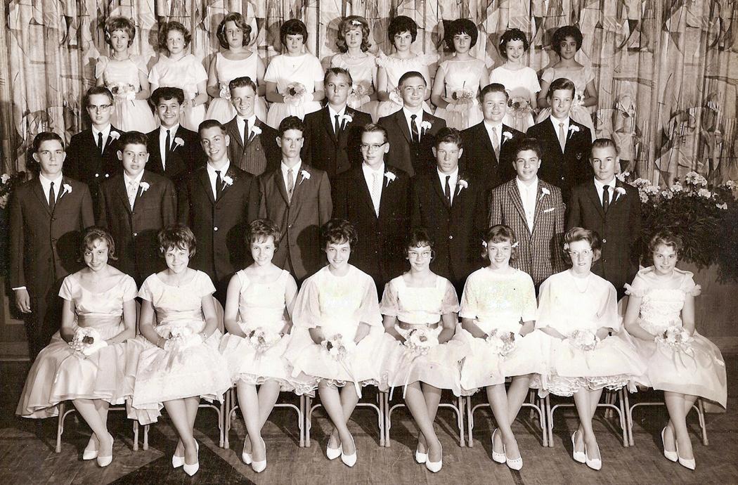 8th grade class 1961