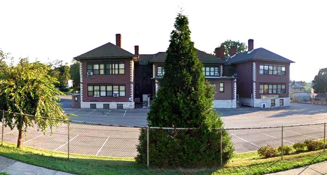 Longfellow School Teaneck back