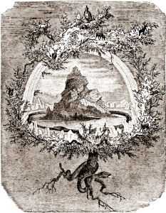 The Ash Yggdrasil by Friedrich Wilhelm_Heine