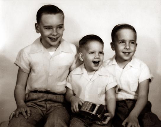 Boys April 1956