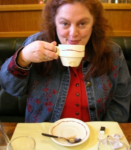 carole and coffee