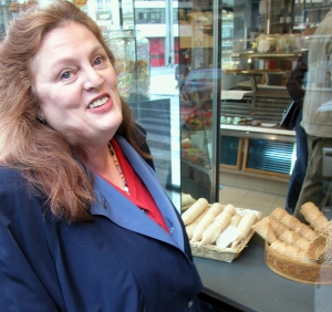 Carole at the patisserie 3