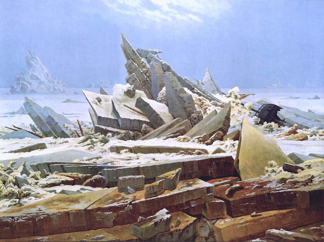 Caspar David Friedrich, Sea of Ice