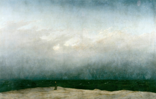 Friedrich, The Monk at the Sea