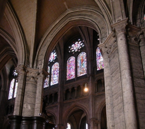 clerestory from nave