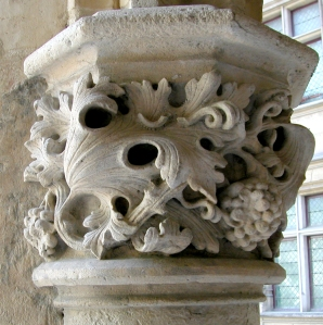 Cluny column leaves