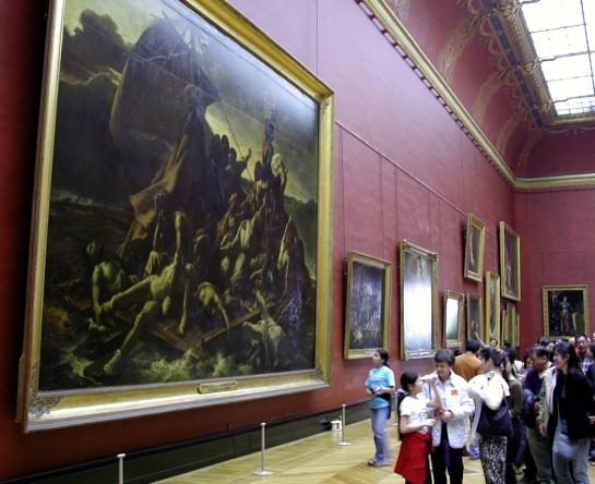 Gericault dans le Louvre