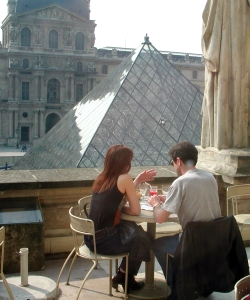 Louvre lunch