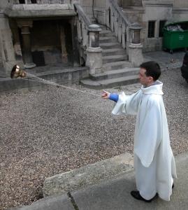 NDP priest swinging censer