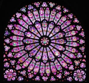 Notre Dame north Rose Window