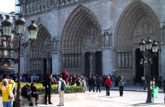 Notre Dame west facade