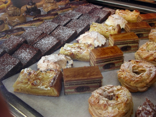 patisserie window