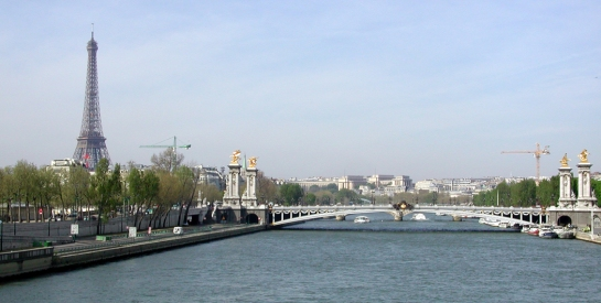Pont Alexandre III and Tour Eiffel