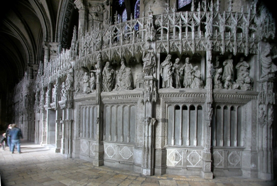rood screen and ambulatory