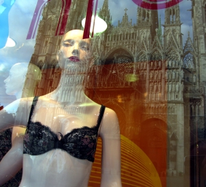 Rouen Lingerie shop window