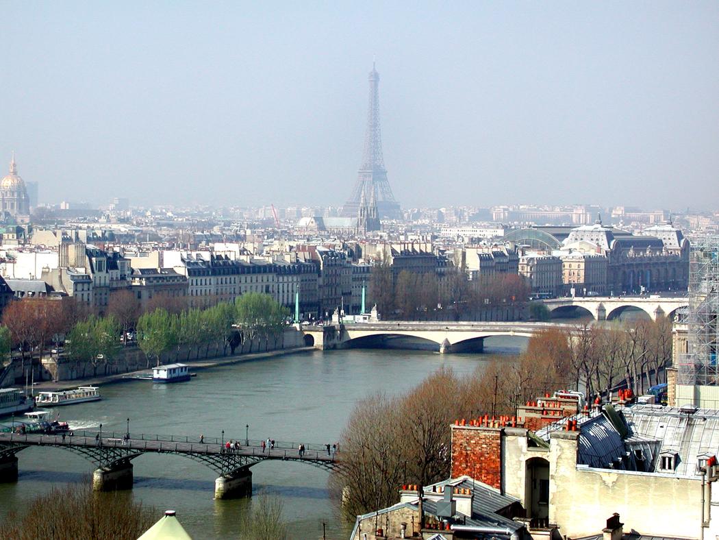 Seine with tower