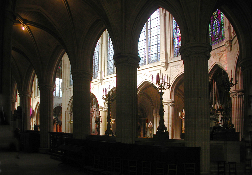 St Germain Aucerrois nave