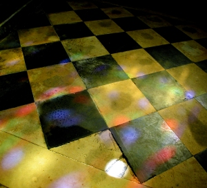 St Germaine light on floor
