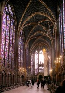 ste chapelle interior