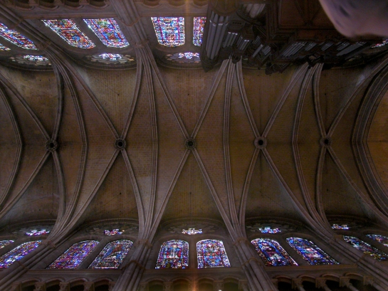 vaulting and organ