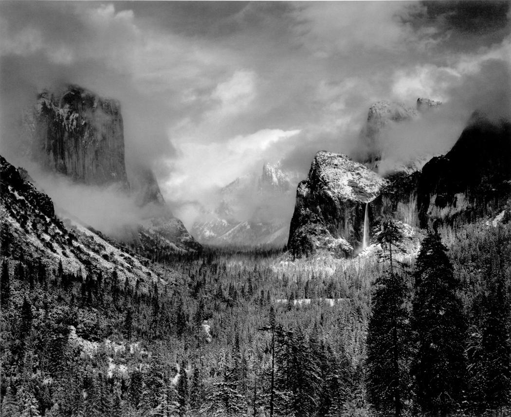 Ansel Adams, Clearing Storm, Yosemite