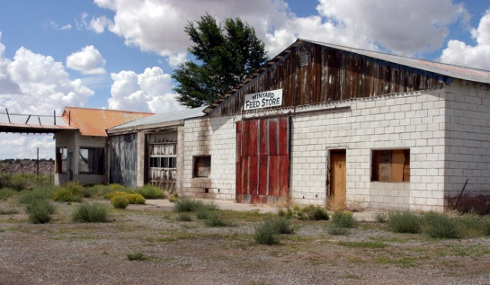 Along old 66 Minyard Feed Store