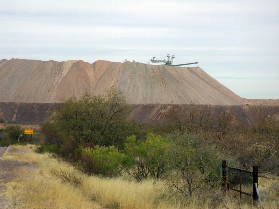 Asarco mine tailings
