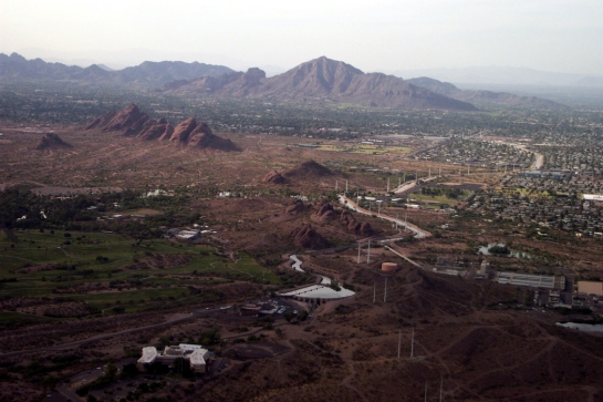 Camelback from air
