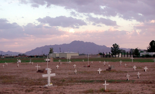 Goodyear Cemetery in Chandler