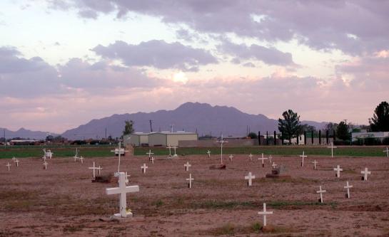 Goodyear Cemetery in Chandler