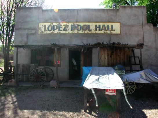 Lopez Pool Hall, Patagonia