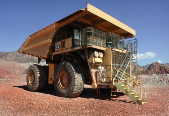 Morenci mine truck