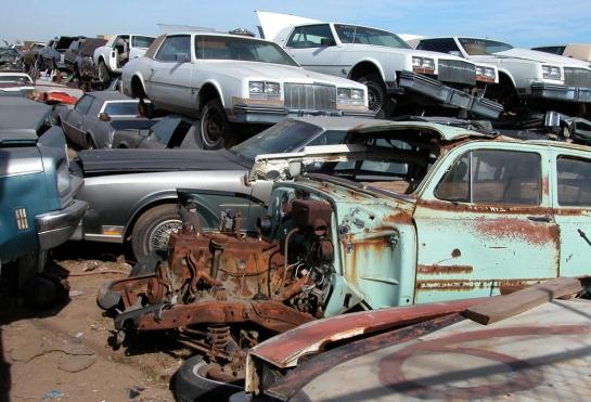 Phoenix car junkyard