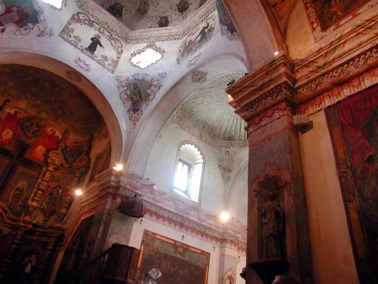 San Xavier del bac interior dome