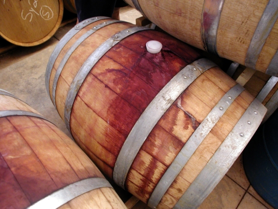 Sonoita wine barrel
