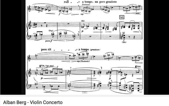 berg violin concerto