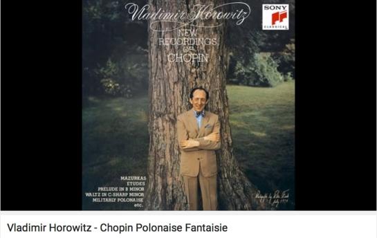 polonaise fantaisie horowitz