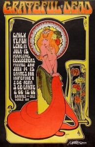 1967 Artist Bob Masse. Grateful Dead